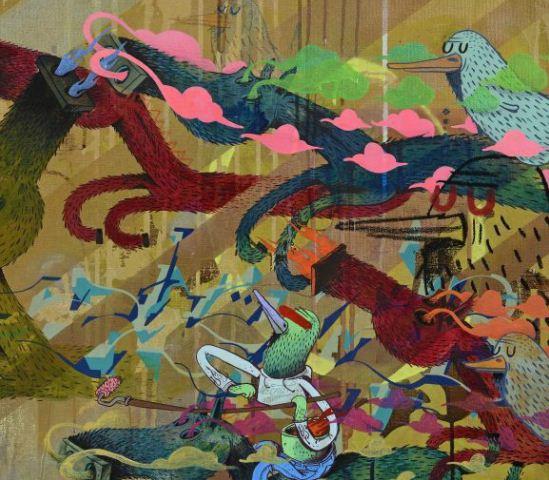 Alexone Dizac - Goldororo - Exposition Alacrité 2012 - Galerie Le Feuvre