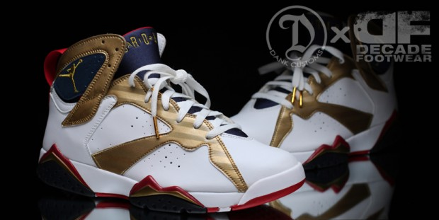 air jordan 7 gold medal