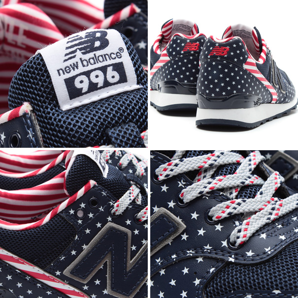 "New Balance WR 996 ""stars and stripes"""