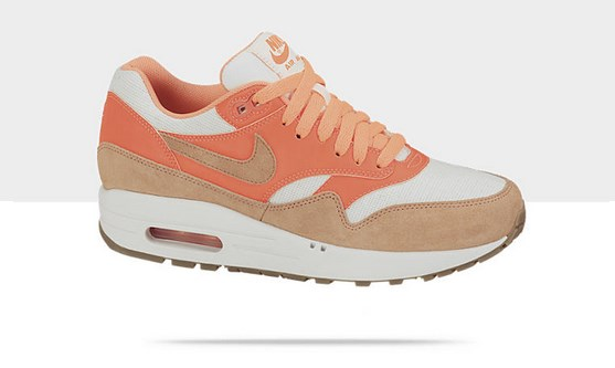 nike air max 1 beige orange