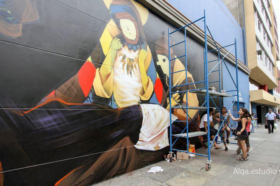 INTI Street Art Lima Peru