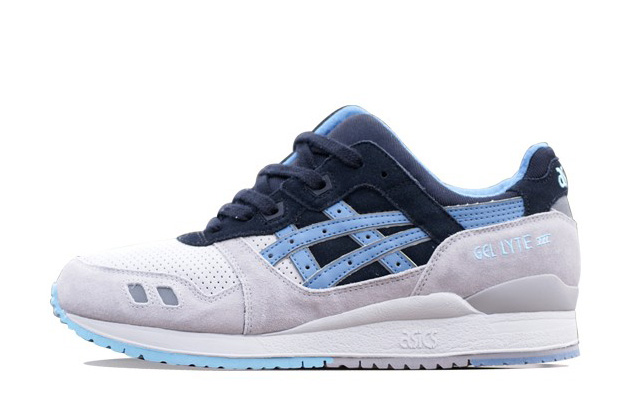 Asics Gel Lyte III captains blue