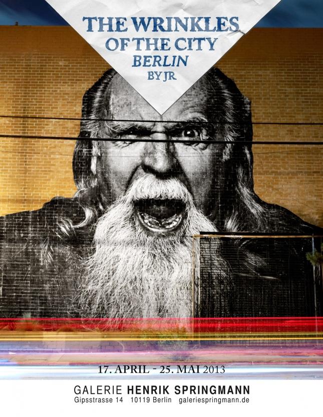 JR wrinkles of the city berlin