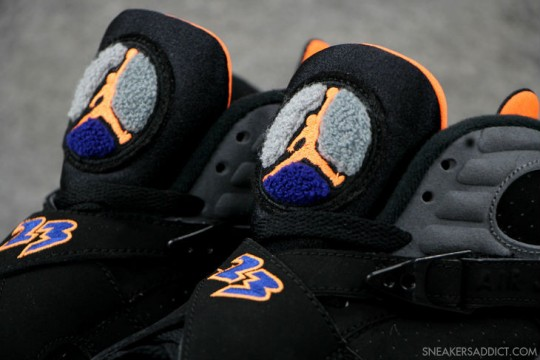 Air Jordan 8 Retro Phoenix Suns Black Citrus