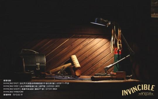 New-balance X invincible M1400