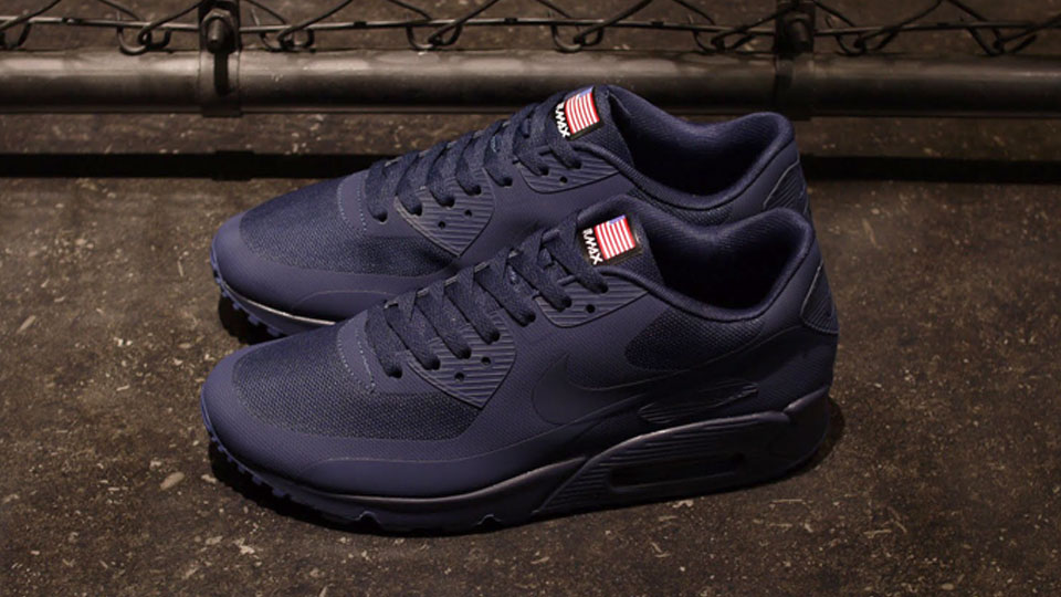 nike air max 90 hyperfuse navy