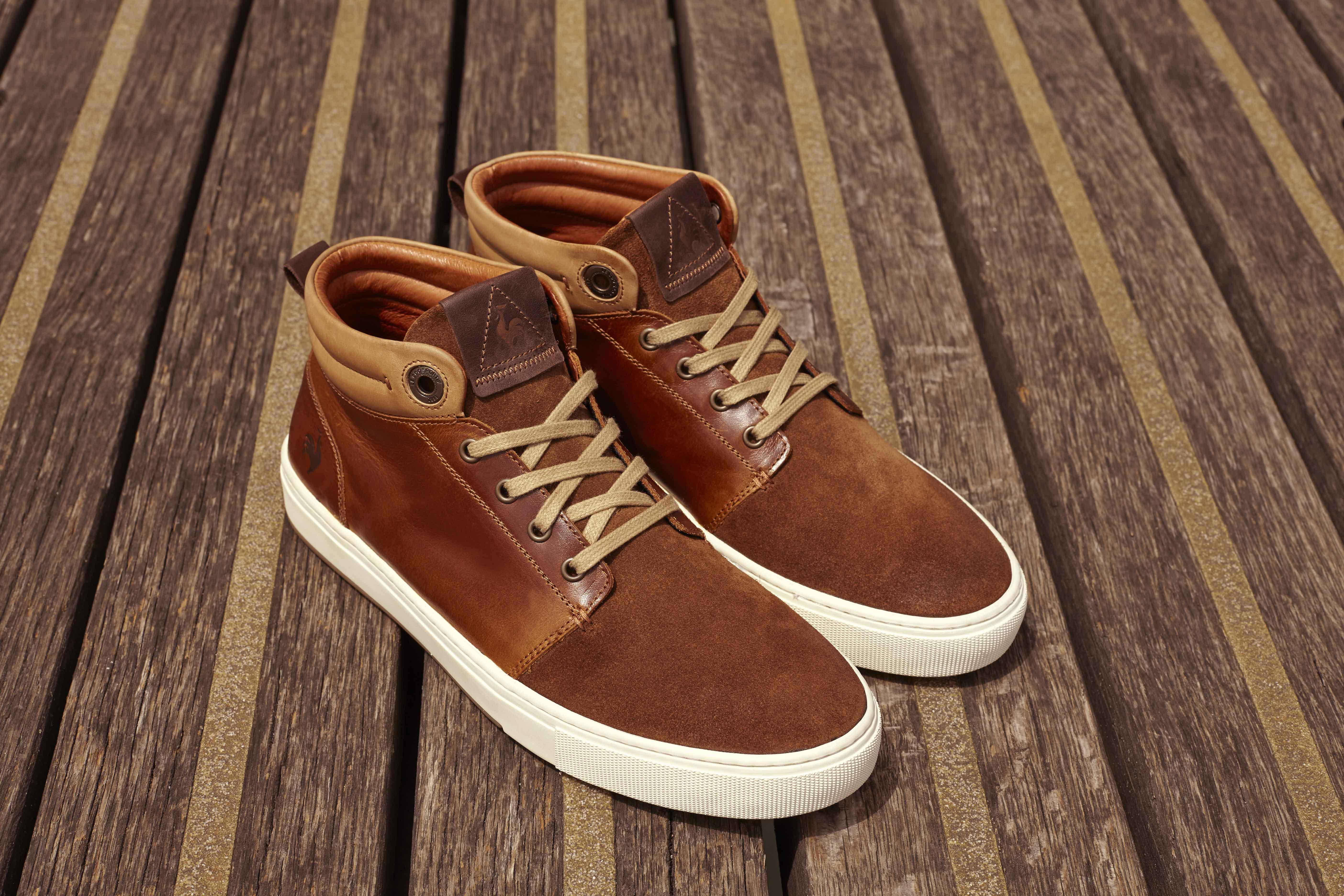 Sneakers Le Coq Sportif Chaligny marron