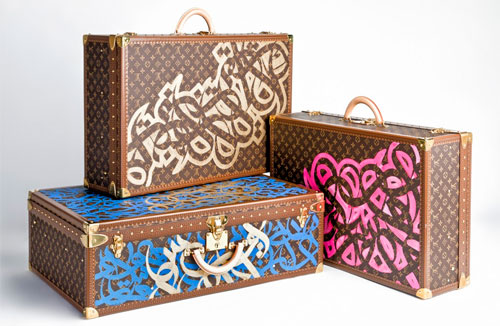 Louis Vuitton X eL Seed - Valises