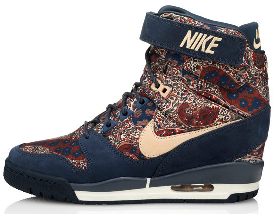 Air Revolution Sky Hi sneakerboots from the Nike X Liberty collection