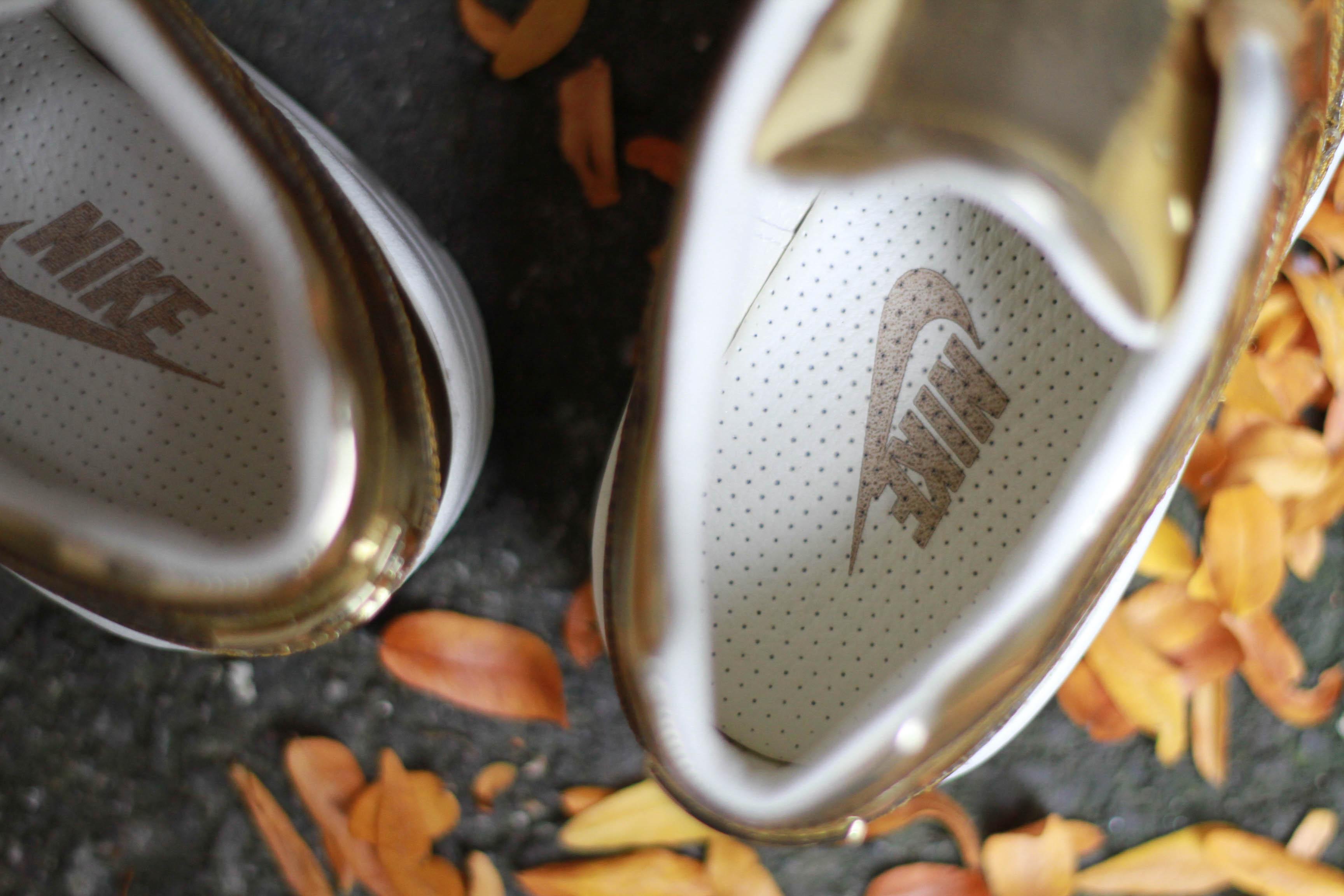 Nike Air Max 1 SP liquid metal detail