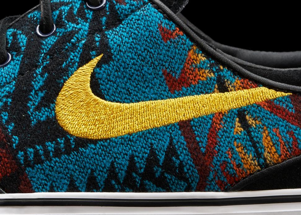 Nike iD x Pendleton Janoski Detail