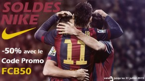 Code Promo Nike FC Barcelone FCB50