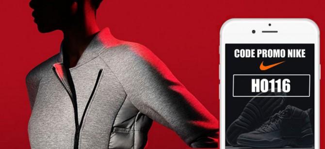 Nouveau Code Promo Nike H0116 pour les soldes d'hiver