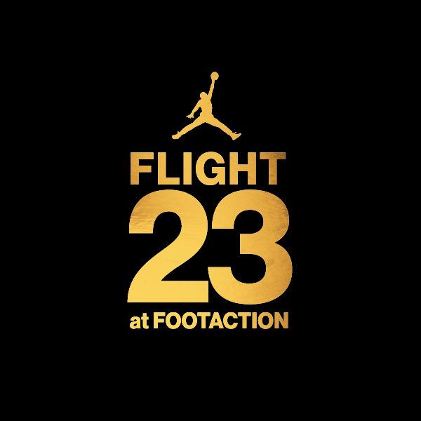 Logo Flight 23 at Footaction New York