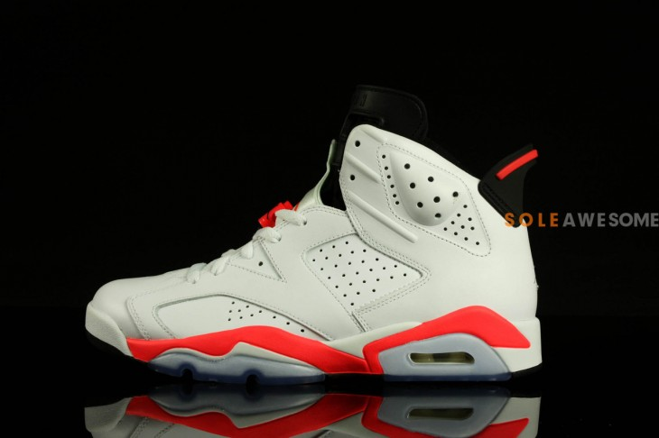 air jordan 6 white infrared