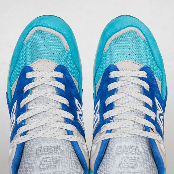 New Balance 1600 x Nice Kicks Grand Anse detail