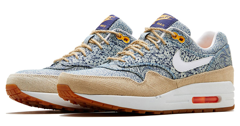 timberland low - Air Max 1 Liberty London �C Collection Nike X Liberty ��t�� 2014 |