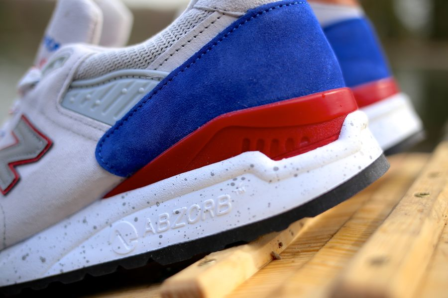 New Balance Made In The Usa M998BT midsole abzorb