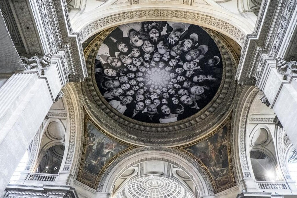 Au Pantheon - JR Installation