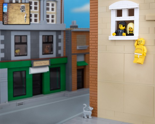 Banksy Amant Lego