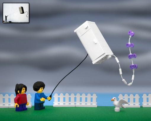Bansky Fridge Lego