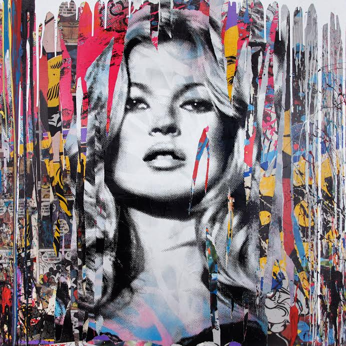 Mr Brainwash Kate Moss