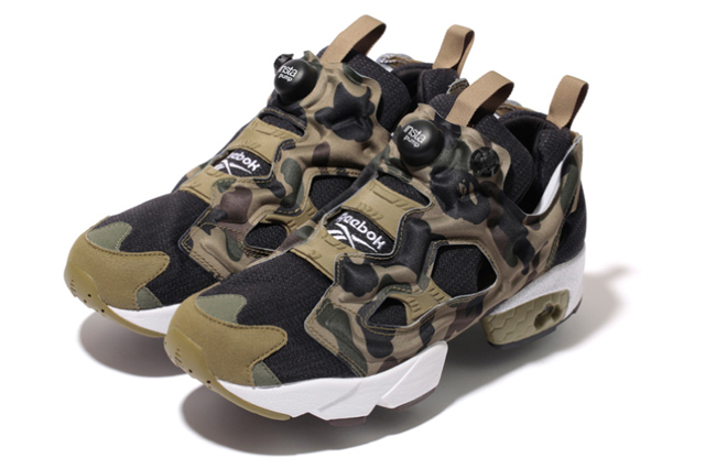 BAPE x mita sneakers x Reebok Insta Pump Fury