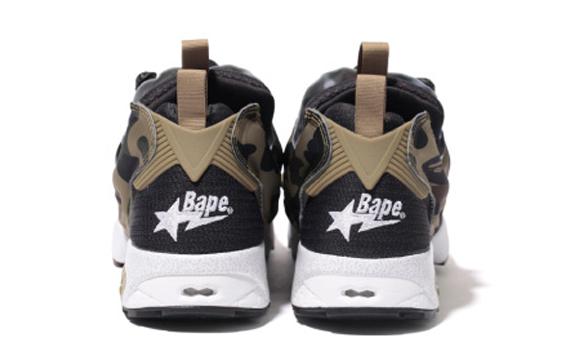 BAPE x mita sneakers x Reebok Insta Pump Fury3