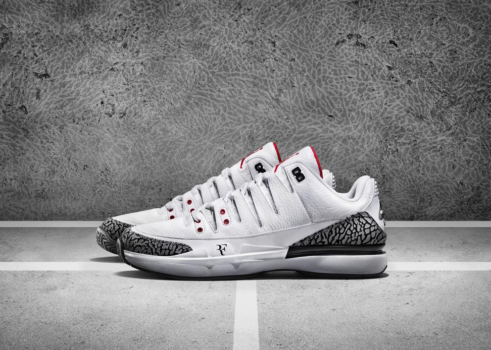 NikeCourt Zoom Vapor Air Jordan 3