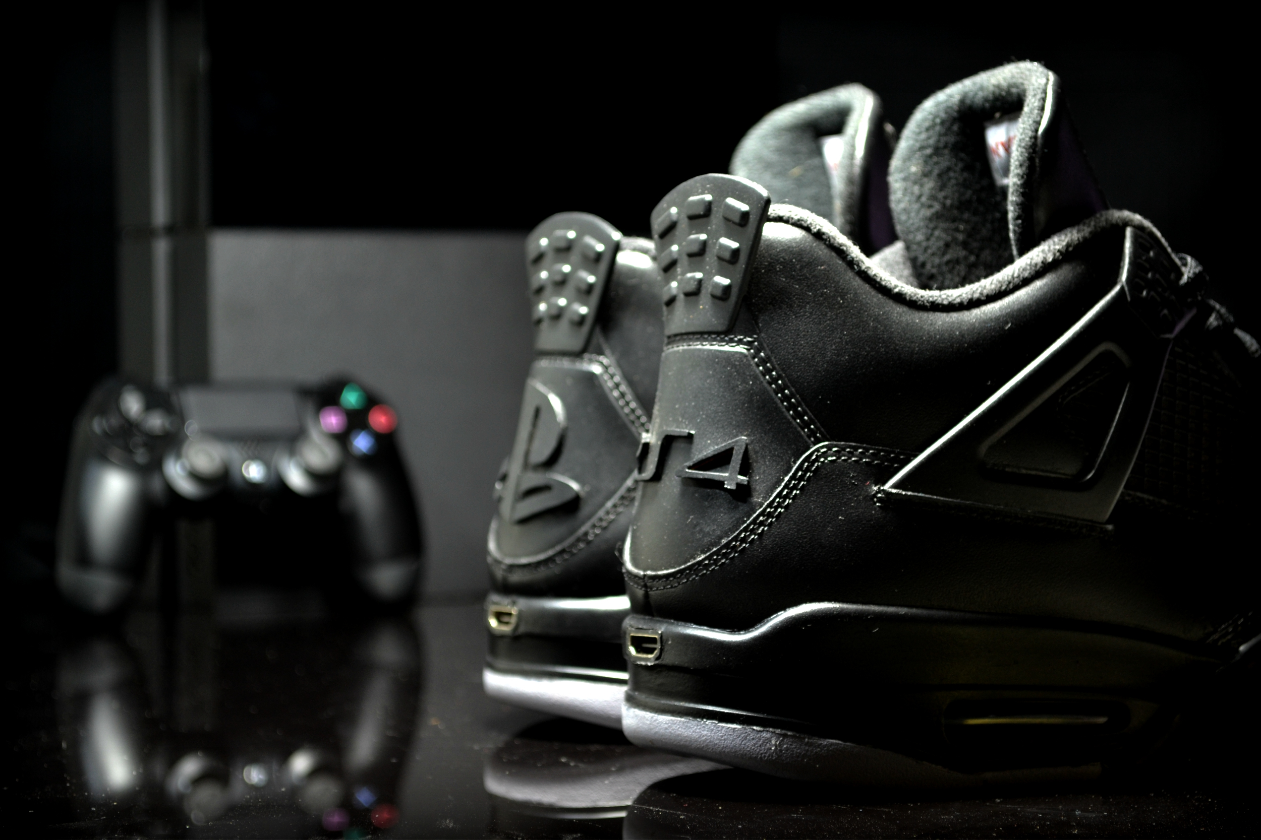 Air Jordan 4 Customisation PS4 by FreakerSneaks