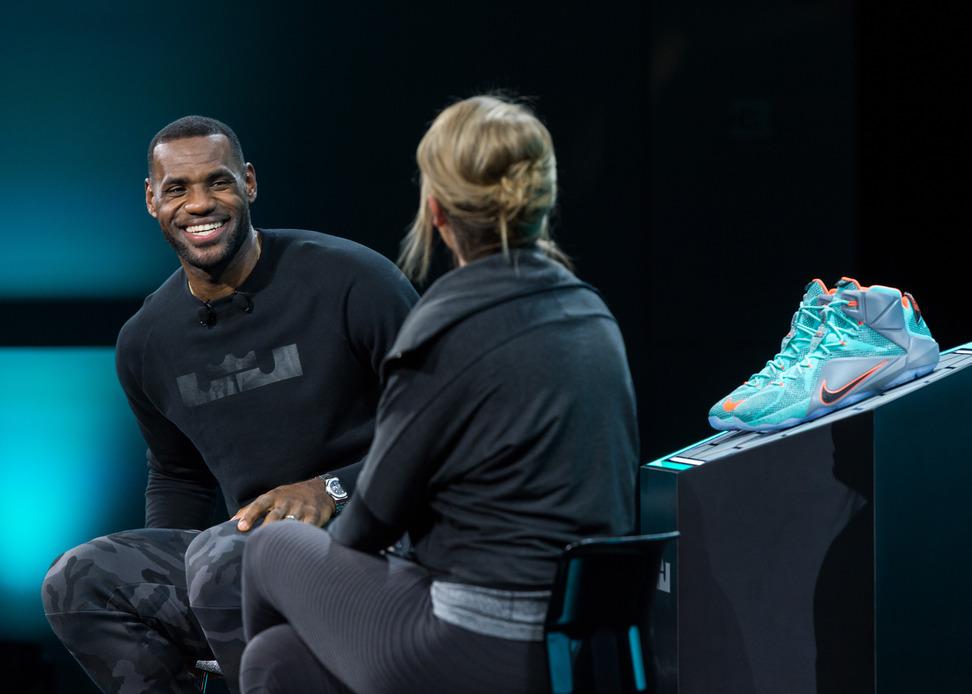 Lebron James Interview Nike Lebron12