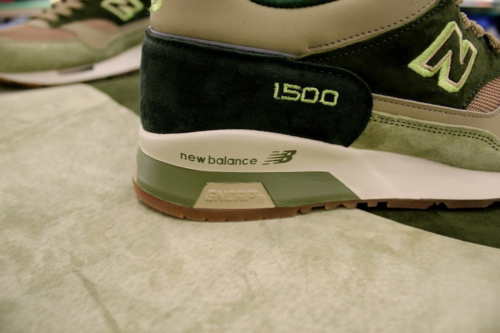 New Balance 1500 x Starcow Paris - Made In England green