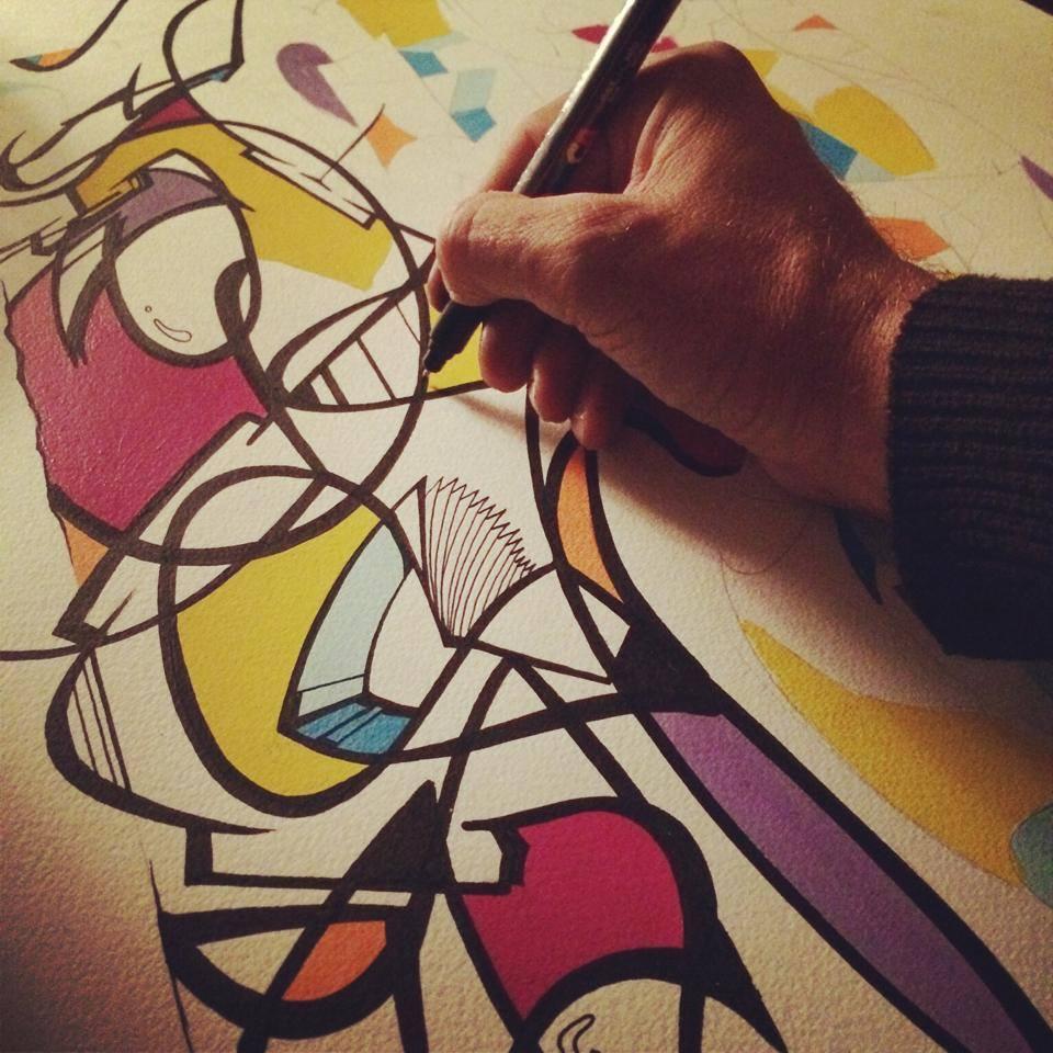 Katre Reso Exposition le cercle fermé Montana Gallery 2014