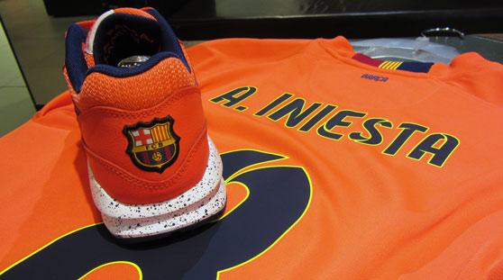 Nike Air Max 1 iD FC Barcelonne Orange