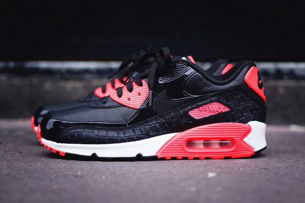 Look Preview Nike Air Max 90 Croc Infrared 2015