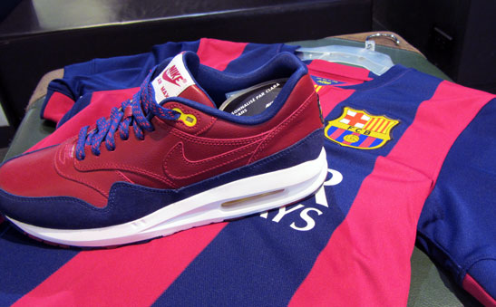NikeiD Air Max 1 FC Barcelonne