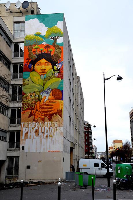 Parcours street art paris 13eme sneak art - Galerie street art paris ...