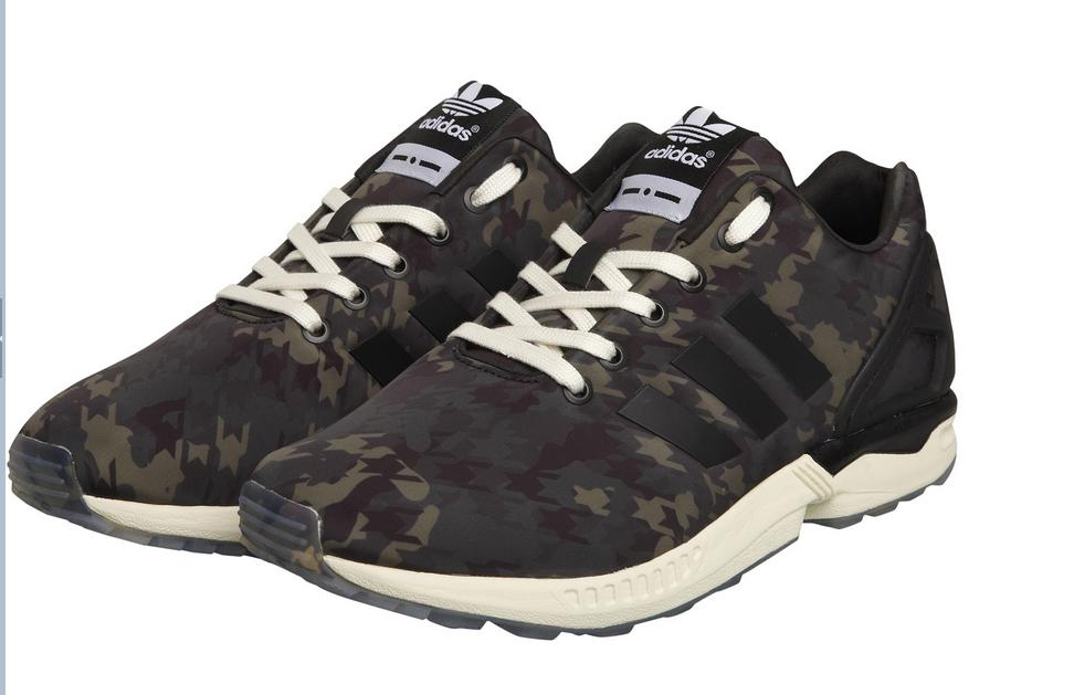 best sneakers 9d2f8 54f4d ... Adidas ZX Flux Kaki