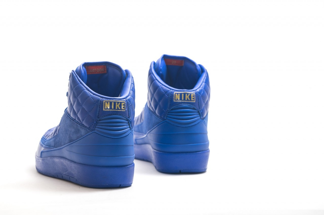 Just Don X Air Jordan 2 details