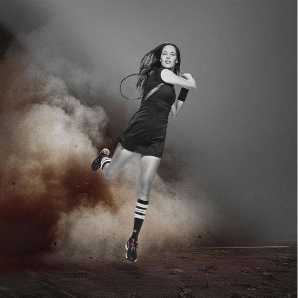 Ana Ivanovic adidas Roland Garros Collection by Y-3