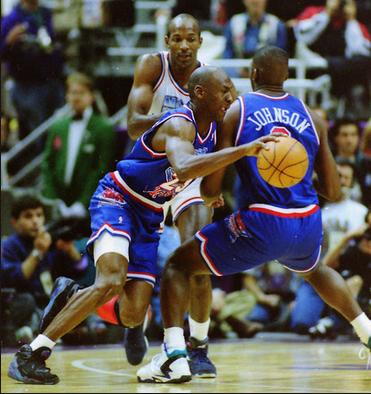 Michael Jordan - Air Jordan 8 Aqua 1993 - All Star Game