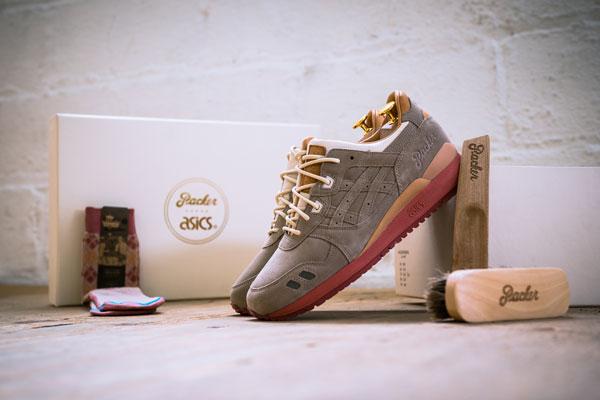 Packer Shoes x ASICS Gel Lyte III Dirty Buck