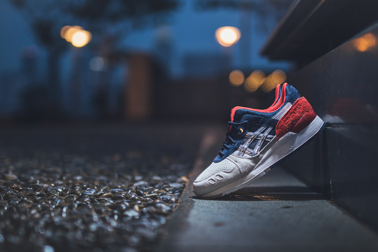 Concepts x ASICS Gel Lyte 3  Boston Tea Party 25th anniversary