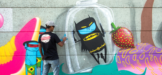 Cranio Festival Street Art Evry © Lionel Antoni3