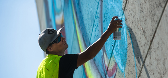Cranio Festival Street Art Evry © Lionel Antoni4