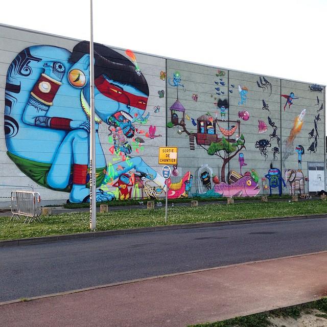 Cranio Street Art Festival Evry