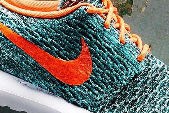 Nike Flyknit Roshe Run Hyper Jade