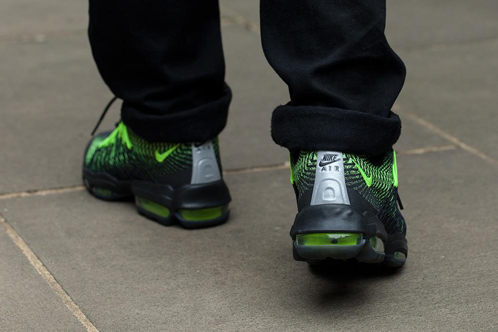 Nike Air Max 95 Ultra Jacquard Black ecurie du