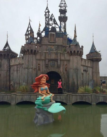Dismaland Banksy Castle