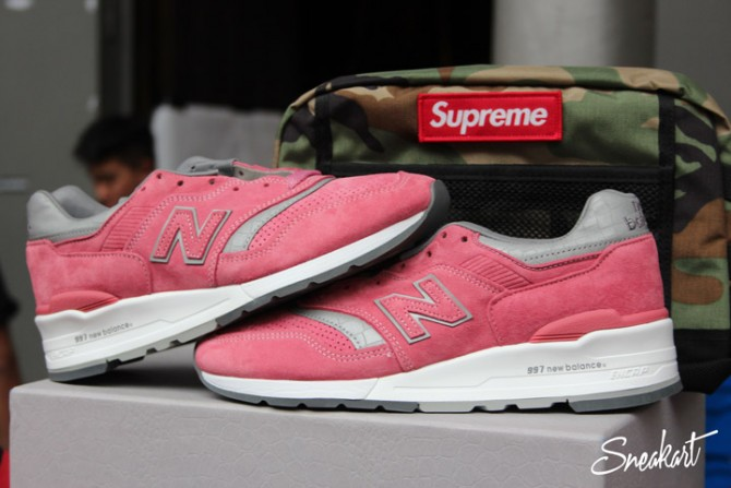New Balance 997 rose - Sneakerness Paris 2015